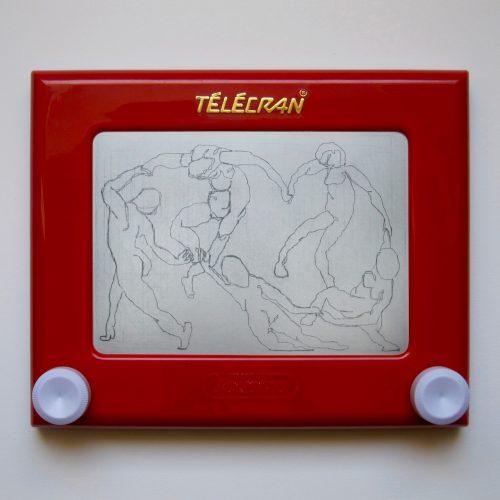 Telecran#1-H.Matisse-La Danse