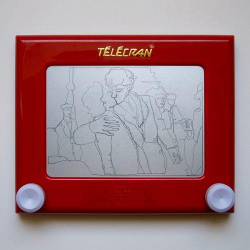 Telecran#3-Doisneau-leBaiser