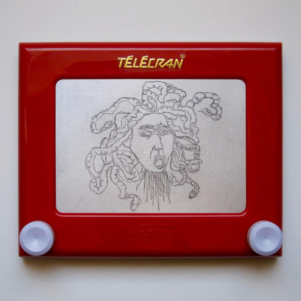 Telecran#5-Caravaggio-Medusa