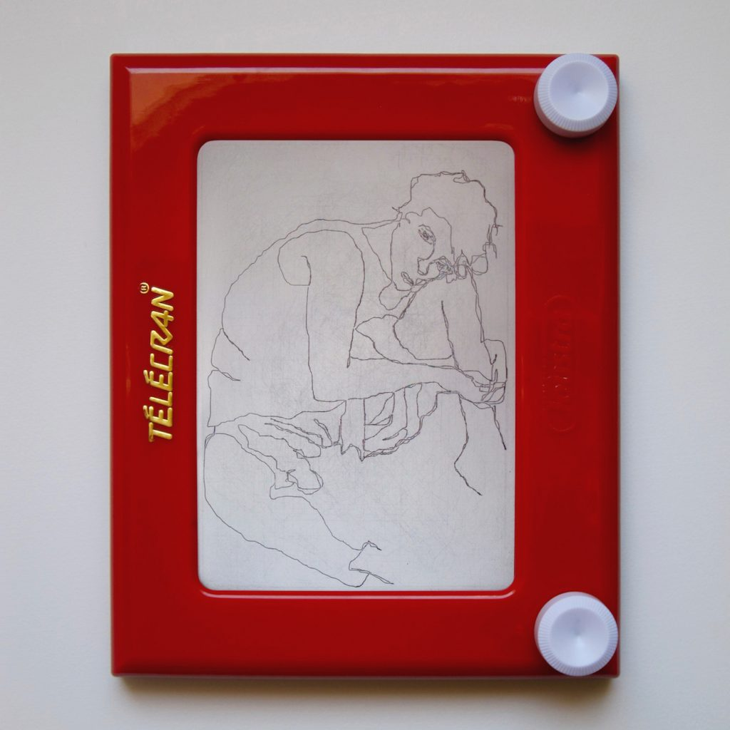 Telecran#6-E.SChiele-Femme Assise